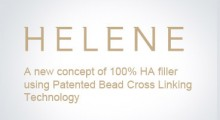 HELENE : A new concept of 100% HA filler using Patented Bead Cross Linking Technology